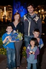 Santa Clarita Lights it Up Blue for AutismAwareness